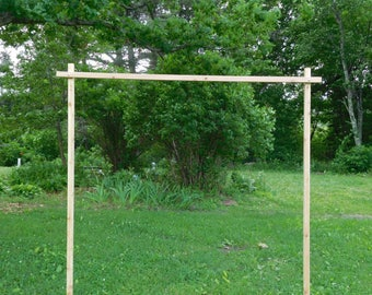 3 pc. Cedar Wedding Arch/ Arbor
