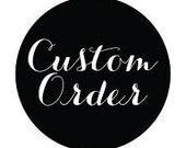 Custom Listing for JMarie2525