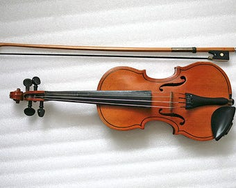 Vintage violin 1/8 mini child learner - working -1980s - from Ukraine / USSR / USSR