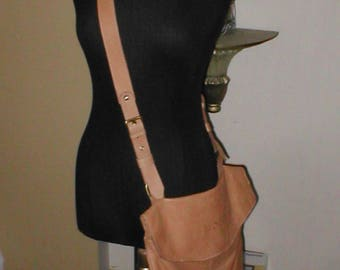 AVORIO Genuine Leather Cross-Body Bag Purse...made in Italy
