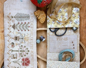 Once Upon a Summer Sewing Roll : Cross Stitch Pattern by Heartstring Samplery