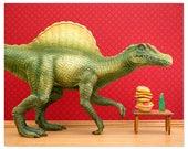 Dinosaur decor: Dino Burger