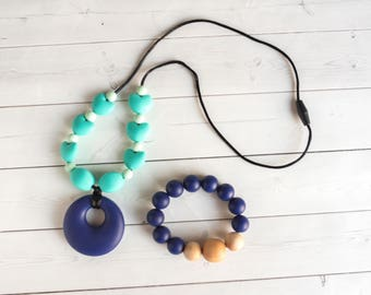 MYSTERY GRAB BAG - Two Items - Silicone Teething Necklace -