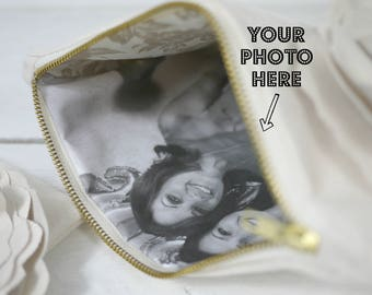 Photo Purse |  Mother of the Bride Gift | Mother of the Groom Gift