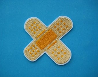 Iron-on embroidered Patch HURT 2.75 inch