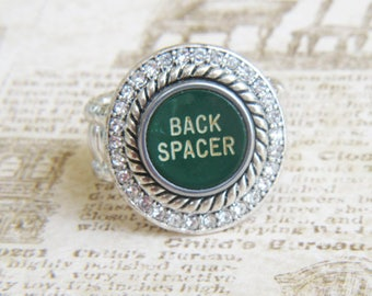 Vintage Typewriter Key Back Spacer Ring