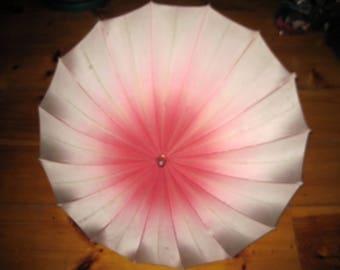 Vintage Pink Ombre Umbrella