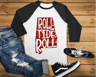Distressed State - ROLL TIDE