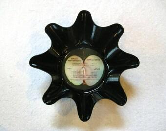 John Lennon Vinyl Album Record Bowl - Solo Beatles