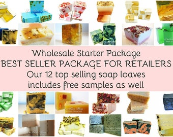 Soap 12 wholesale soap loaves, 3lb whole soap loaves, best selling soap loaf package, wholesale soap, bulk soap, vegan soap, natural soap