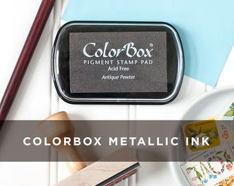 ColorBox Pigment Metallic Stamp Pads