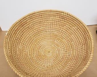 Vintage Large Weave Basket