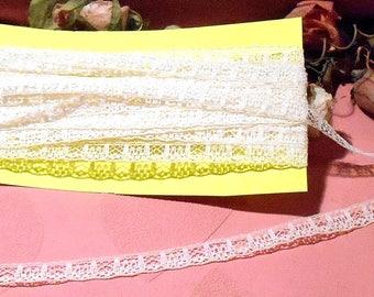 Antique Lace Trim 1920s Doll Lace Cotton Trim