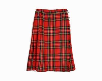 Tartan plaid skirt | Etsy