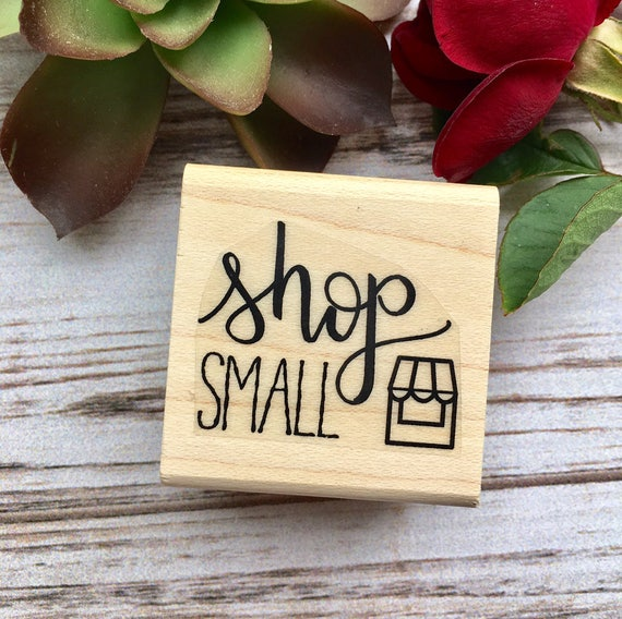Small Business Stamp - Shop Small Shop Local