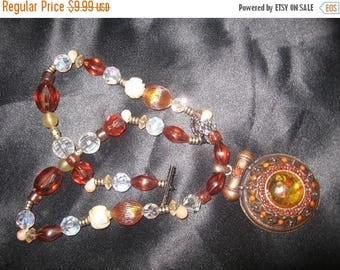 25% Off Sale Amazing Vintage Bead Necklace/ 20 INCHES