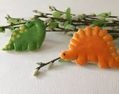 Dinosaurs sugar cookies for birthday party favor, 1 dozen