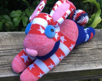 SCARLET O'HARE quick as a bunny and Gone with the Wind, this sock toy will fast be the love of your life.