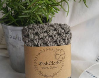 100% Cotton Dishcloth