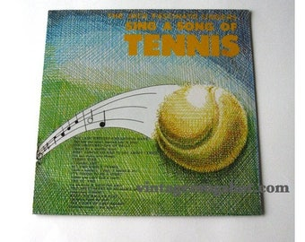 August Vinyl Blow Out 10% OFF Already Low Prices Tennis Sealed  Private LP  Vinyl  Record Sing a Song of Tennis