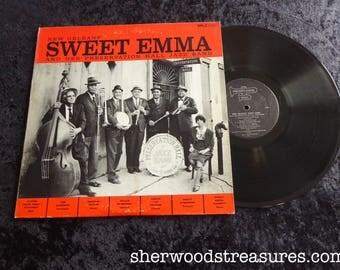 Sweet Emma and Her Preservation Hall Jazz Band 1964 Lp Vinyl Orig Pressing Record  Album