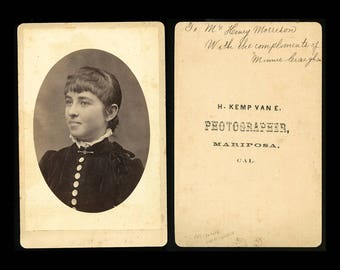 Lot of THREE (3) Rare Early California Cabinet Card Photos