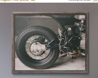 FLASH SALE til MIDNIGHT Custom Honda Cx Cafe Motorcycle Fine Art Print, Wall Decor, Wall Art, Motorcycle gift Ideas,