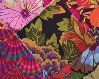 Kaffe Fassett Quilting Fabric Squares, OOP