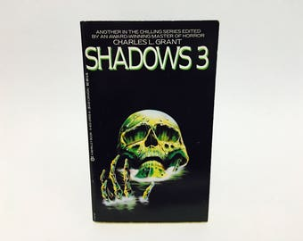Vintage Horror Book Shadows 3 Edited by Charles L. Grant 1985 Paperback Anthology
