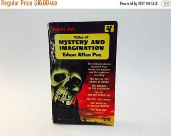 SUMMER BLOWOUT Vintage Horror Book Tales of Mystery and Imagination by Edgar Allan Poe 1960 UK Edition Paperback