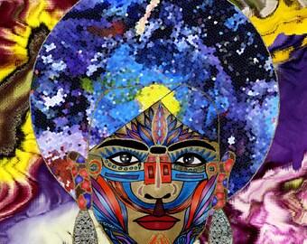 Frida In Pieces - Enhanced Art Print Frida Kahlo inspired
