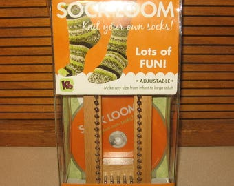 DIY Socks Authentic KB Knitting Board Brand SOCK Loom With Instructions Keep Those Toes Warm This Christmas Baby Size to Adults