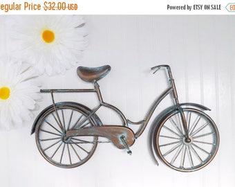 ON SALE Metal Bicycle Wall Art~Retro~Vintage~Nursery Decor~Bicycle Wall Decor