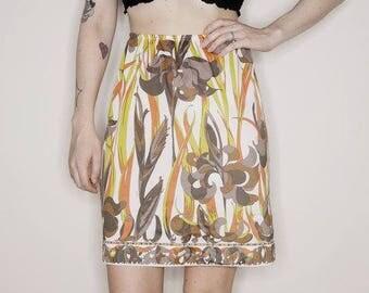 Qt vtg 60s 70s Emilio Pucci slip skirt size small - medium