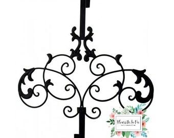 Door Hanger, Wreath Hanger, Front Door Hanger, Door Wreath Hanger, Scroll Door Hanger