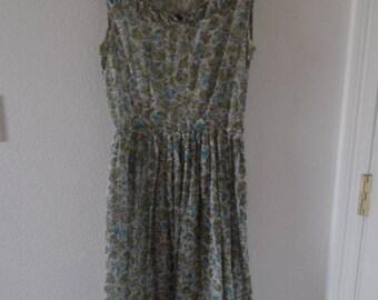Vintage Summer Prairie Dress Make Mine a McKettrick Small