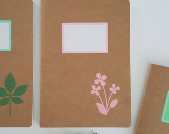Floral notebook A5