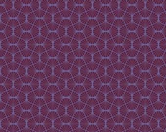 SALE 10% Off - Empire Weave in Garnet  (JD54) - Joel Dewberry Fabric HEIRLOOM for Free Spirit - By the Yard