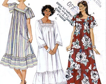 McCall's 2537 Vintage 80s Sewing Pattern for Misses' Dress - Uncut - Size X-Small 6-8