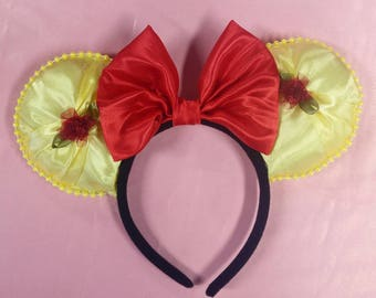Belle minnie ears