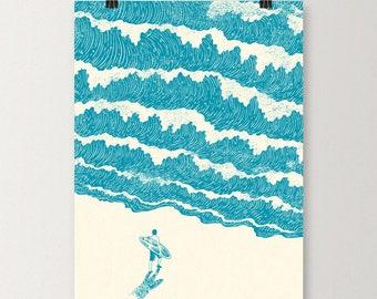 To The Sea - Art print
