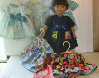Dresses with Pockets for American Girl and other 18 inch dolls