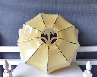 French Art Deco  Lamp Shade Ceiling Light Shade 1930s