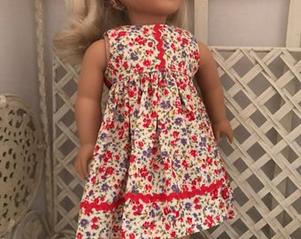 American Girl and Most 18 In Dolls Sundress