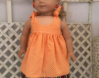 Sundress forAmerican Girl Doll or 18 Inch Doll