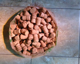 Bag of 50 Used Champagne Corks