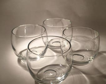 4 Roly Poly Glasses