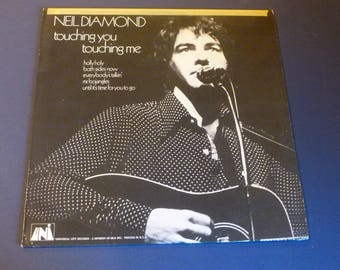 Neil Diamond Touching You Touching Me Vinyl Record LP 73071 UNI Records 1969
