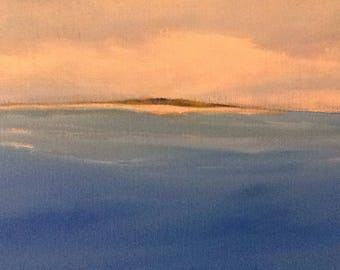 "Take Me Away an original seascape painting 18""x24"" canvas"