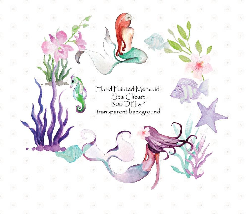 Painted Mermaid Designs